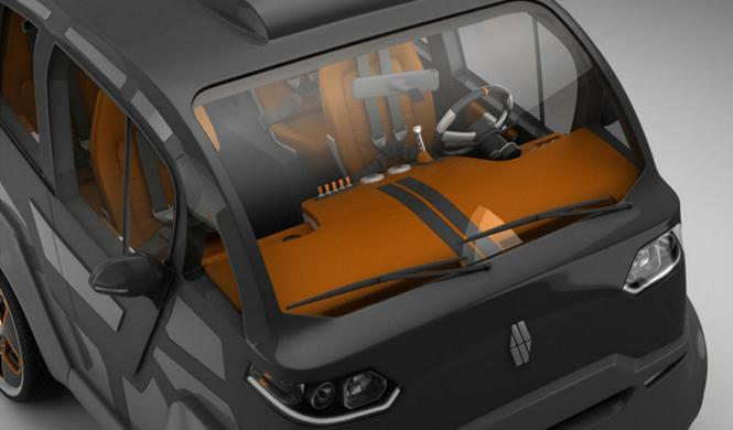 Espejo Provocador el coche inteligente ciudades del futuro 6