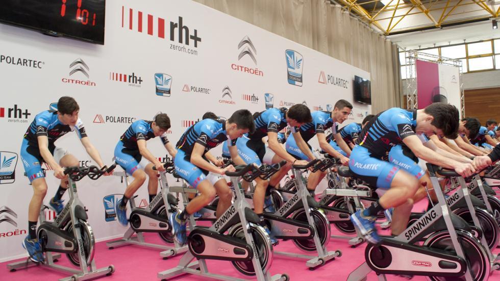equipos pedaladas solidarias