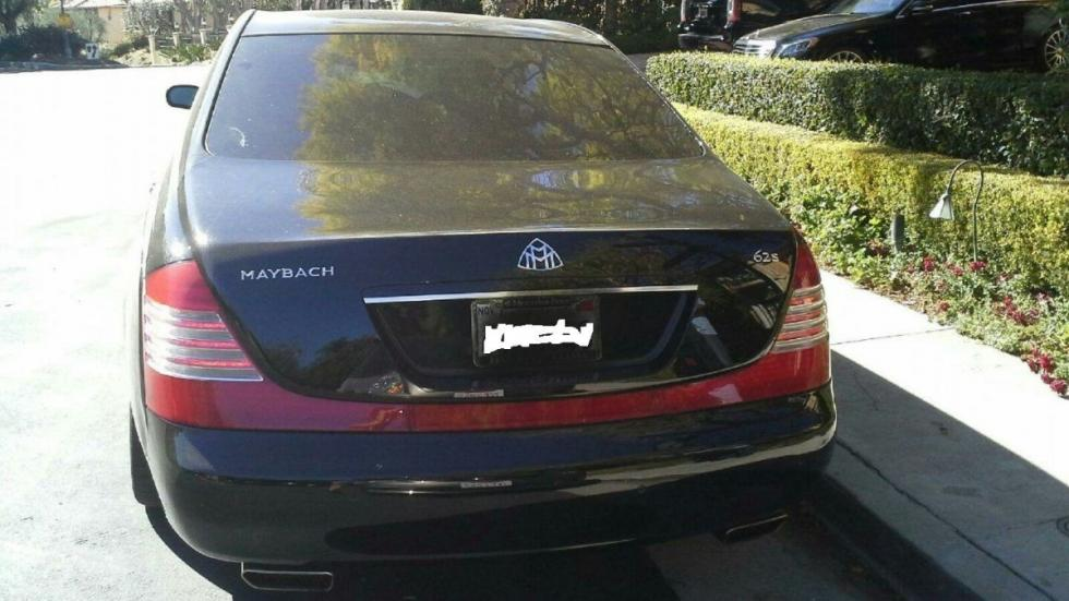 Venta Maybach 62S de Charlie Sheen