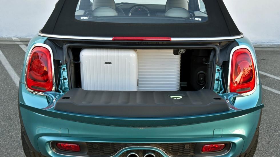 Mini Cooper S Cabrio maletero