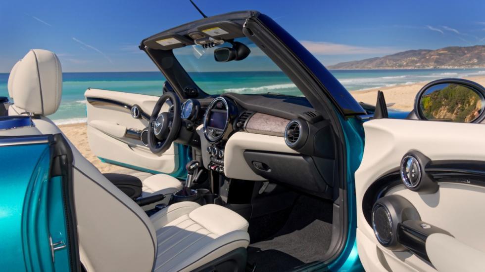 Mini Cooper S Cabrio puertas