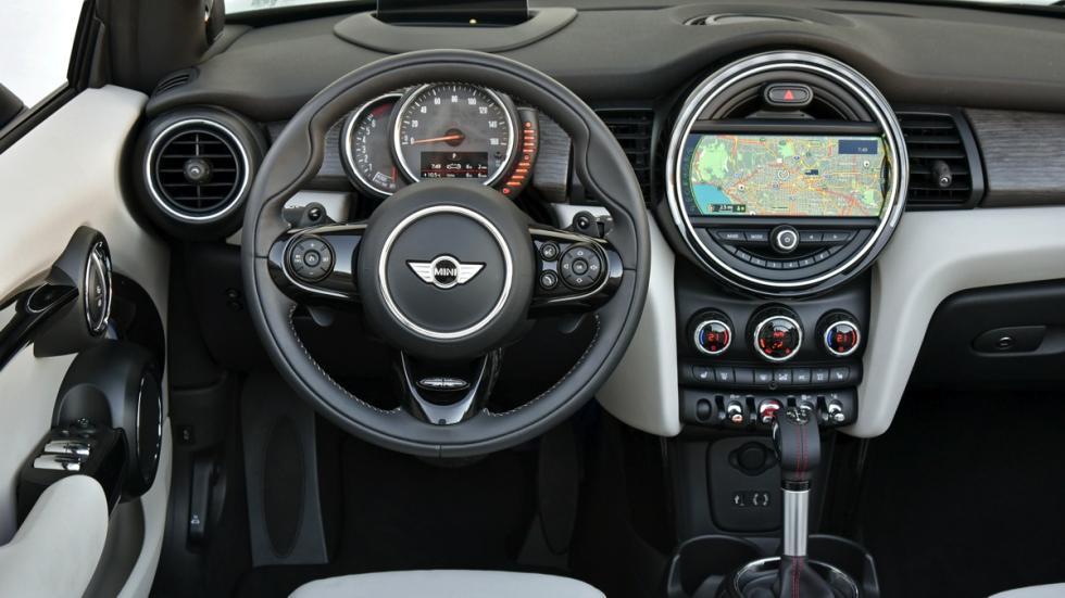 Mini Cooper S Cabrio salpicadero