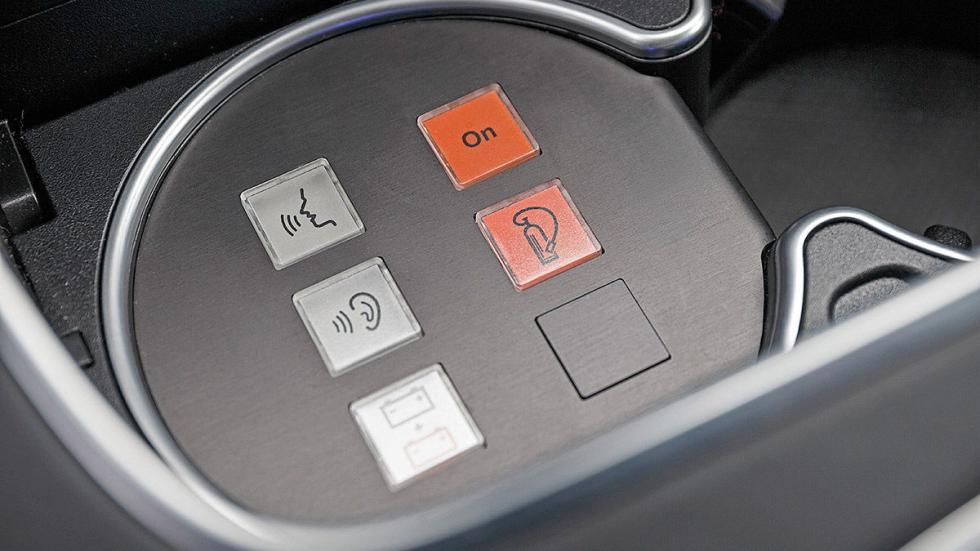 Mercedes S 600 Maybach Guard botones