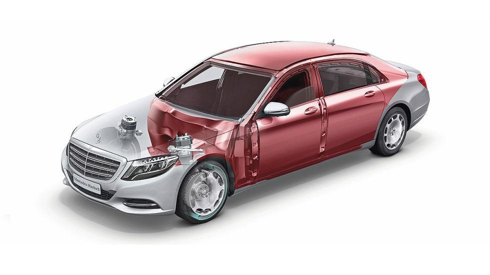 Mercedes S 600 Maybach Guard chasis