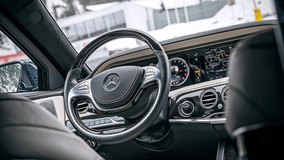 Mercedes S 600 Maybach Guard interior