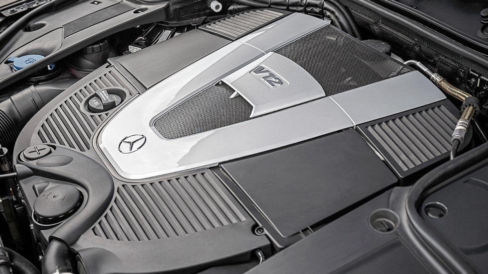 Mercedes S 600 Maybach Guard motor