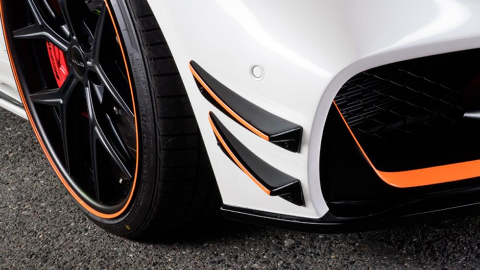 Mercedes AMG GT Black Bison Edition, detalle frontal