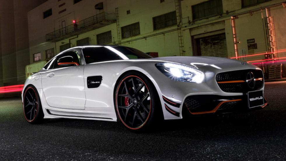 Mercedes AMG GT Black Bison Edition, lateral