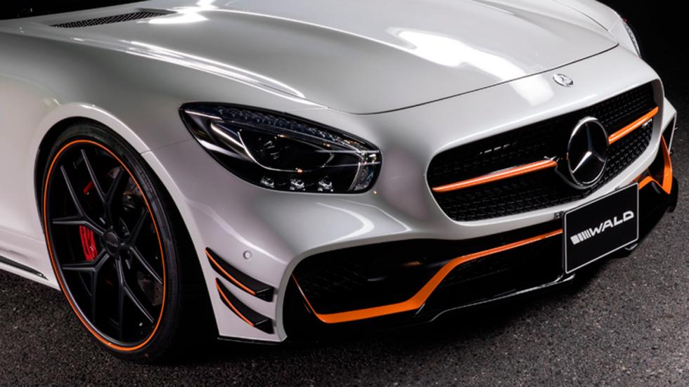 Mercedes AMG GT Black Bison Edition, frontal
