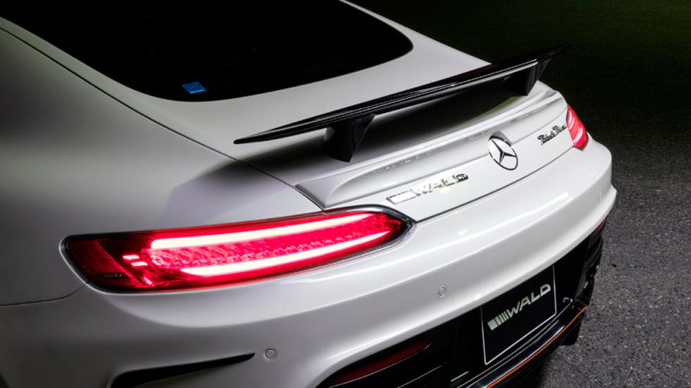 Mercedes AMG GT Black Bison Edition, trasera