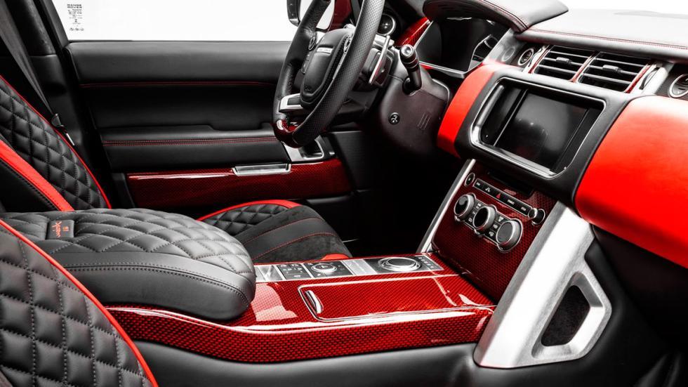 Range Rover AR 9 Spirit, interior