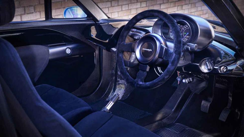 Riversimple Rasa interior