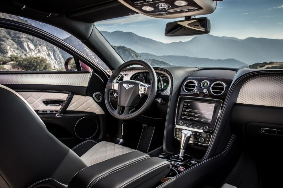 Bentley Flying Spur V8 S interior