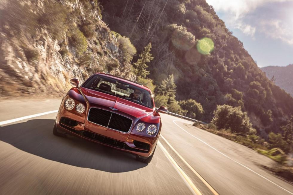 Bentley Flying Spur V8 S morro