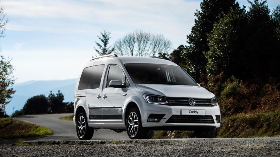 Volkswagen Caddy Outdoor 2016, más deportiva