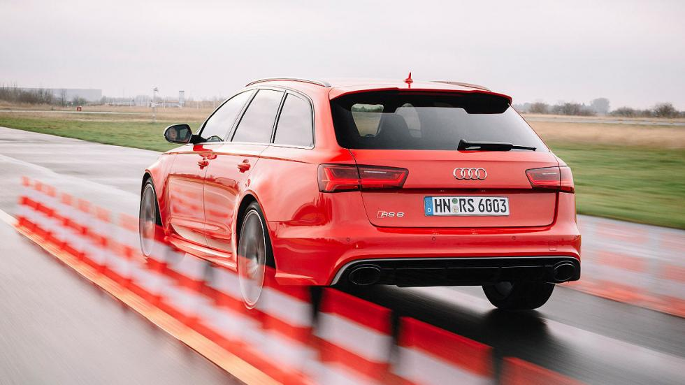 Prueba: Audi RS 6 performance. Un familiar radical