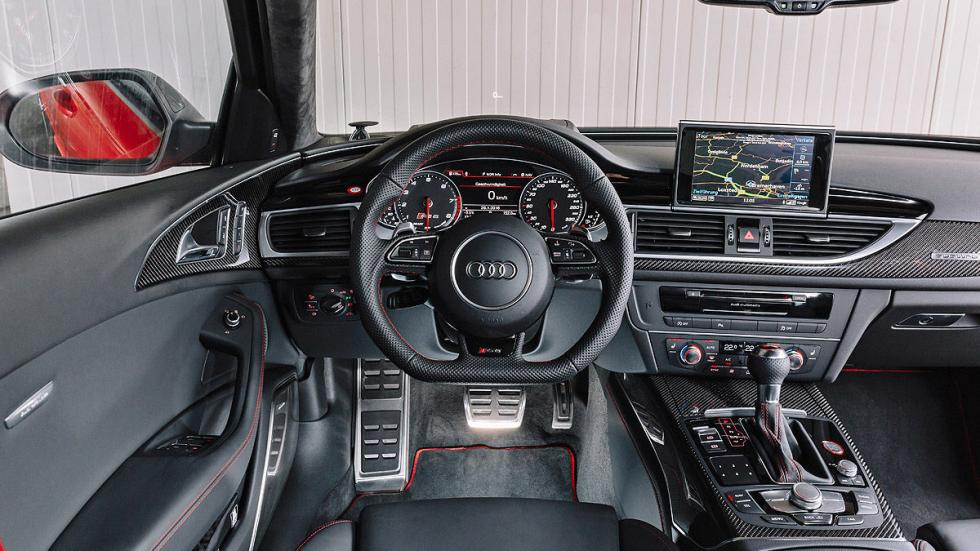 Audi RS 6 performance interior