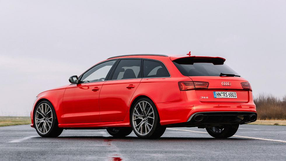 Audi RS 6 performance pilotos