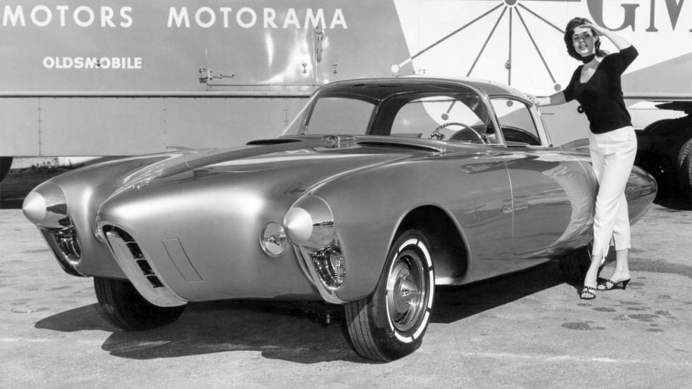 Oldsmobile Golden Rocket delantera