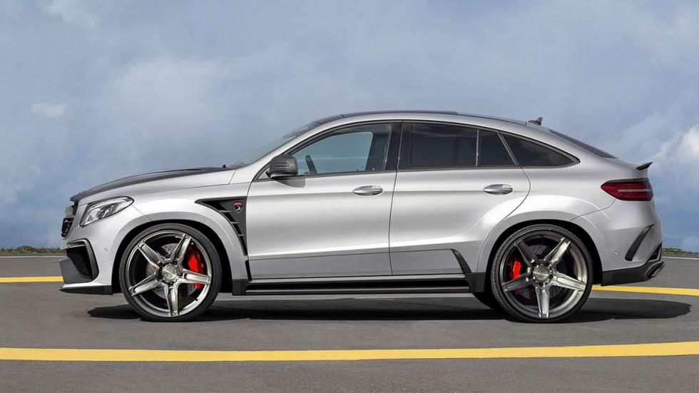 Topcar Mercedes GLE Coupé lateral