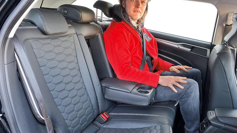 Ford Mondeo Sportbreak traseras