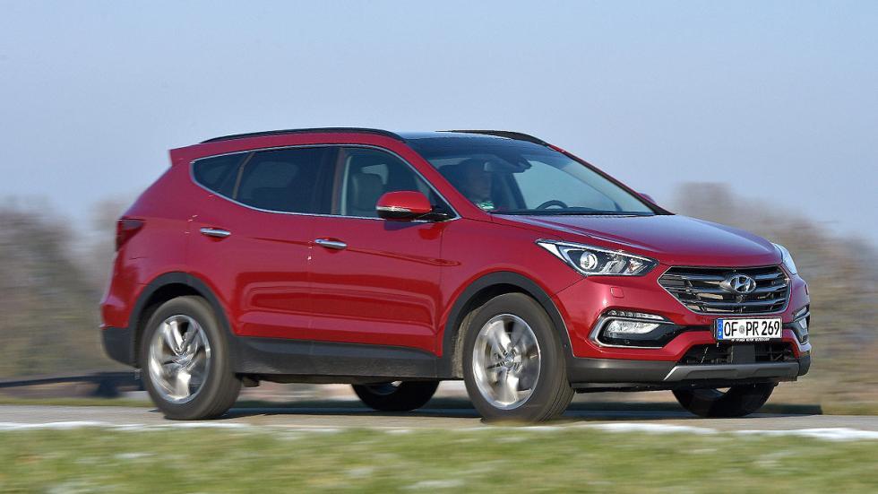 Hyundai Santa Fe lateral dinámico