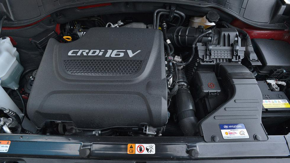 Hyundai Santa Fe lateral motor