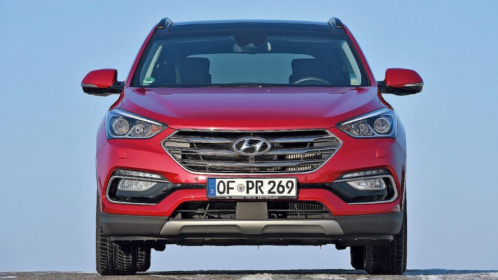 Hyundai Santa Fe lateral morro