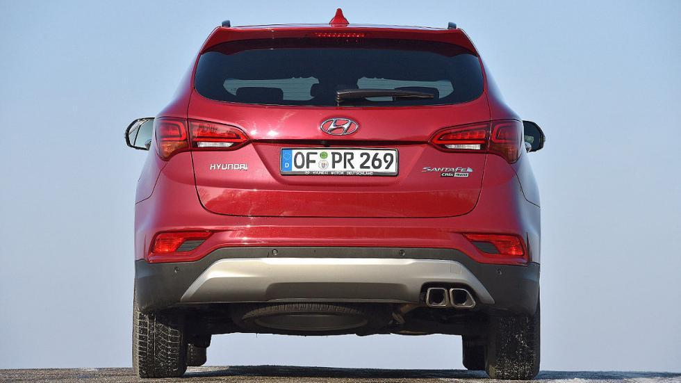 Hyundai Santa Fe lateral zaga