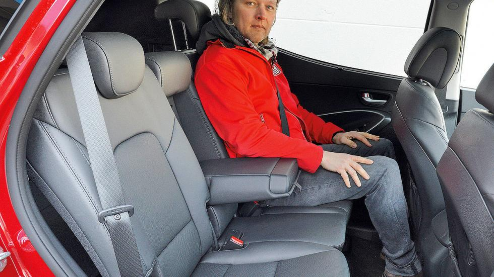 Hyundai Santa Fe lateral zaga traseras