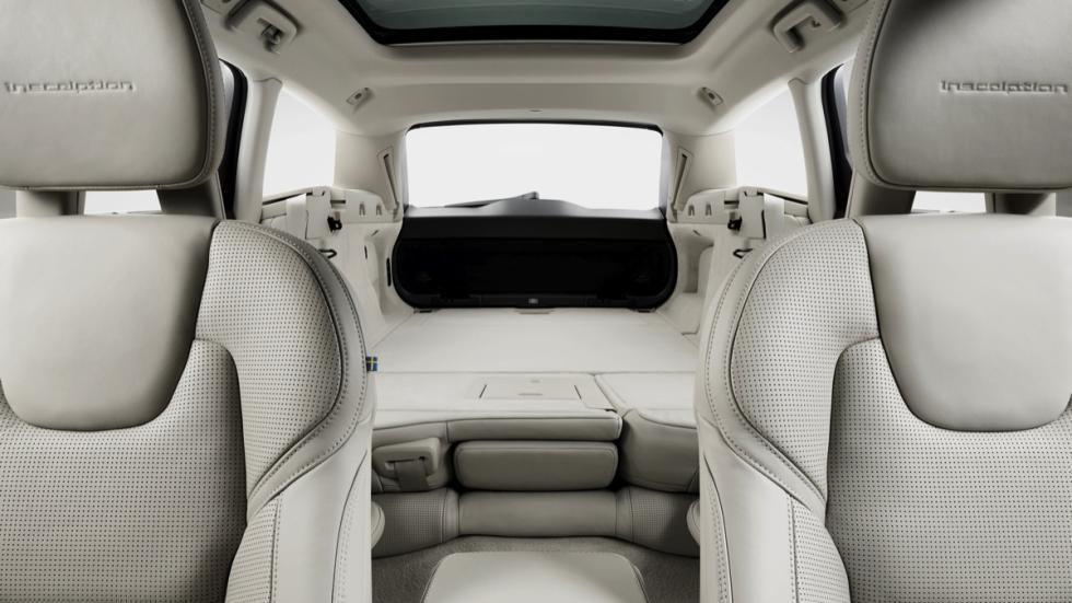 Volvo V90 2017 asientos abatidos