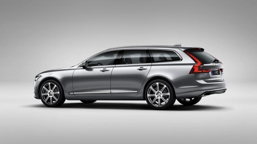 Volvo V90 2017 tres cuartos traseros