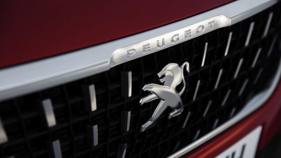 Peugeot 2008 2017 parrilla