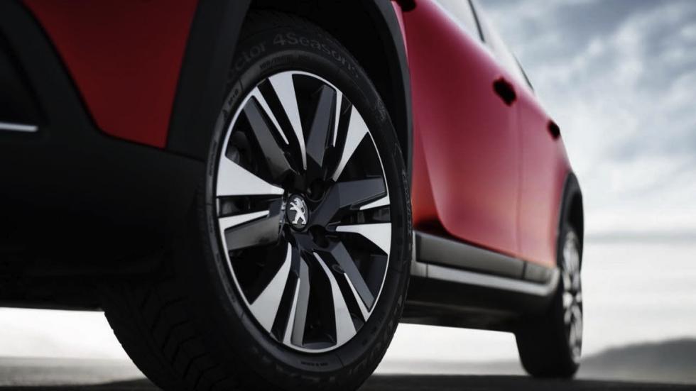 Peugeot 2008 2017 rueda