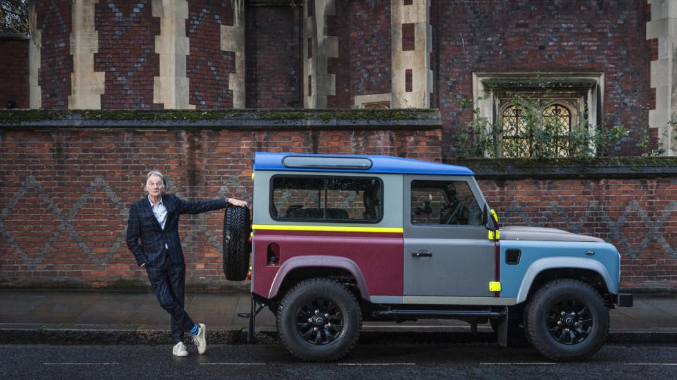 cortometraje land rover defender paul smith