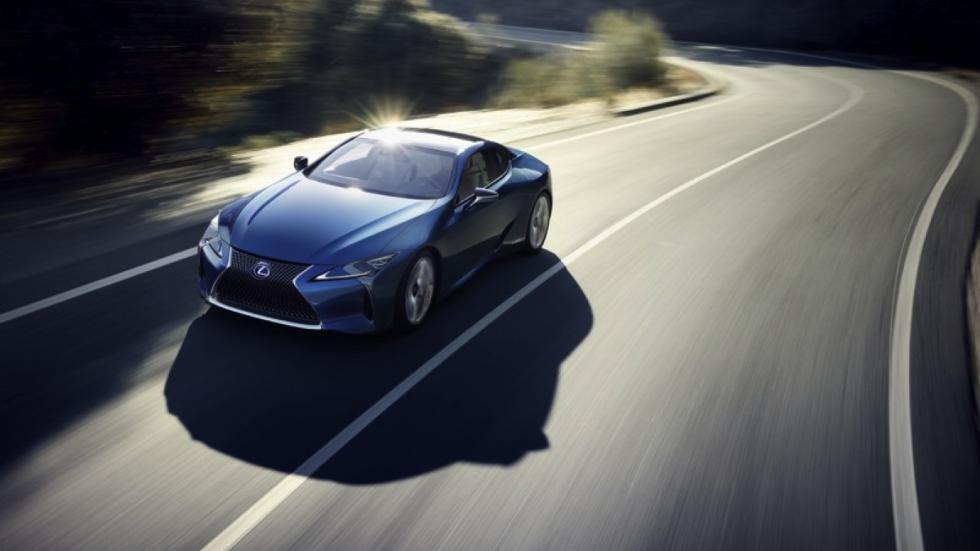 Lexus LC 500h dinamica