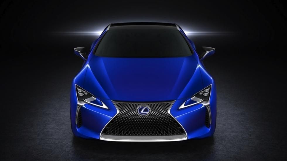 Lexus LC 500h frontal
