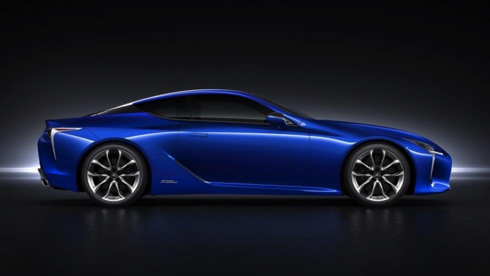 Lexus LC 500h perfil