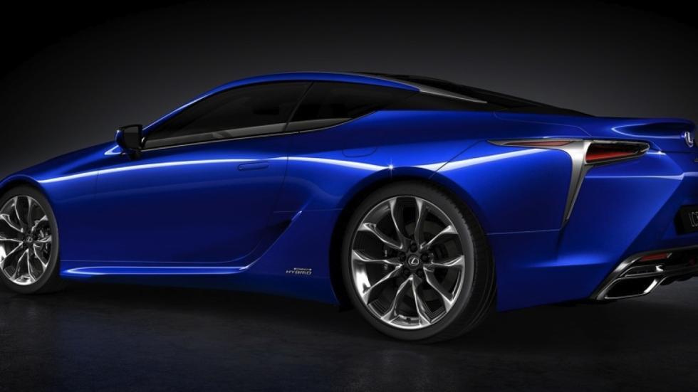 Lexus LC 500h tres cuartos