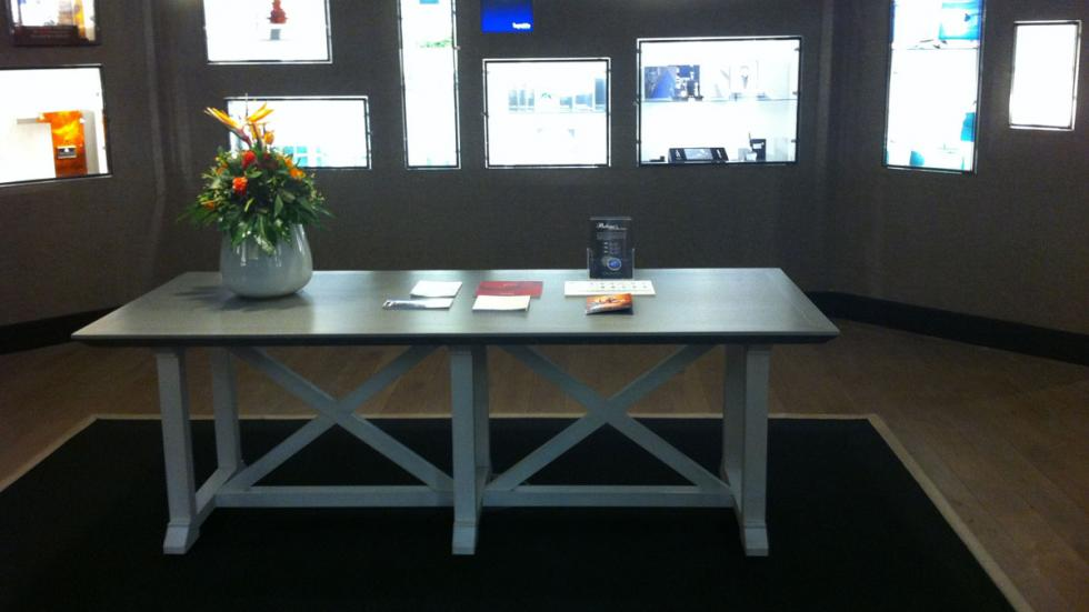 laterminal ejecutiva del aeropuerto de Fráncfort había artículos a la venta