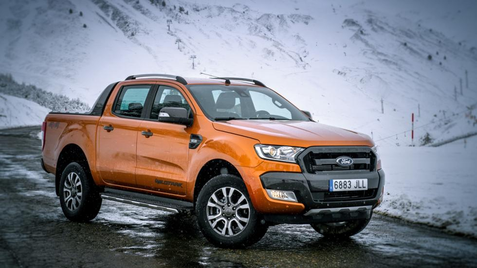 Ford Ranger Wildtrack delantera