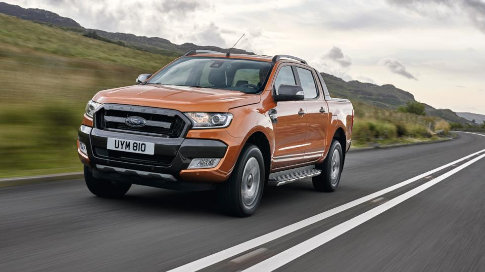 Ford Ranger 2016 dinámica