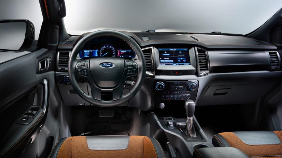 Interior Ford Ranger Wildtrack