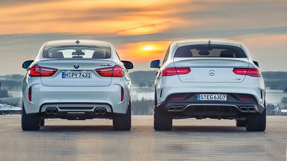 Duelo de 500 CV: BMW X6 M vs. Mercedes AMG GLE 63 S Coupé