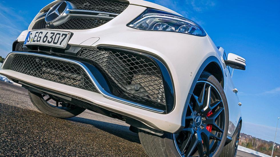 Mercedes AMG GLE 63 S Coupé motor parrilla espoiler