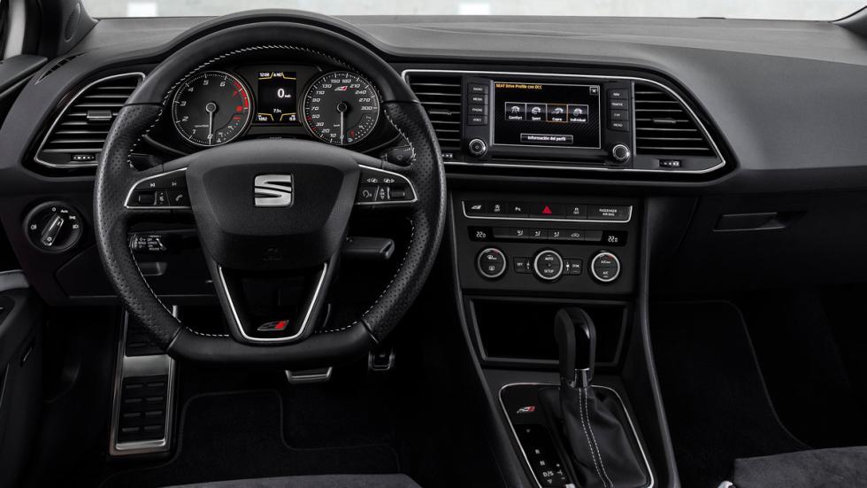 Seat León Cupra 290 interior
