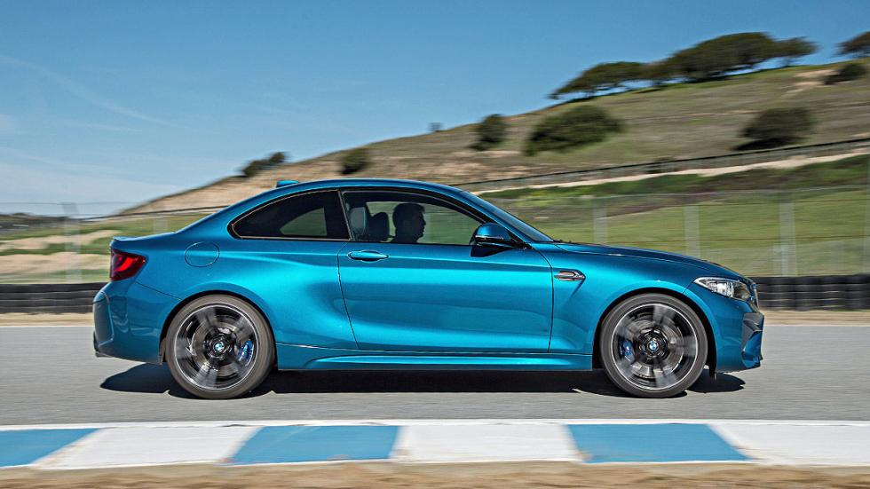Prueba: BMW M2. LATERAL