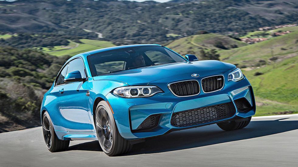 Prueba: BMW M2. LATERAL 3 CUARTOS