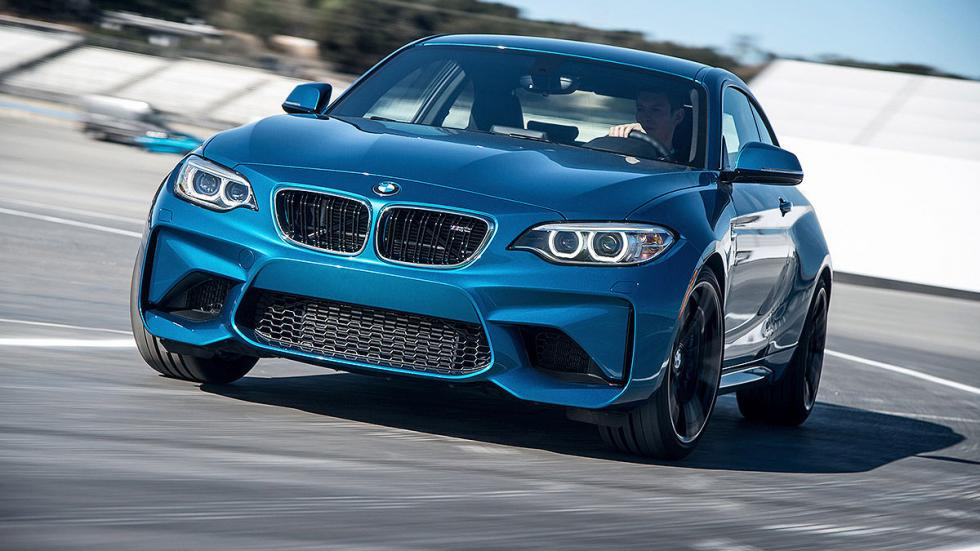 Prueba: BMW M2. PARRILLA
