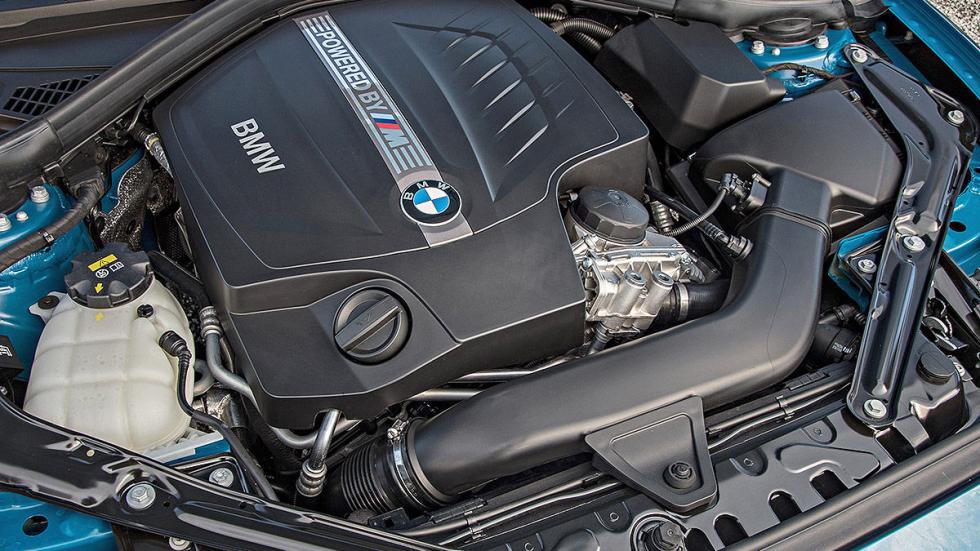 Prueba: BMW M2. MOTOR
